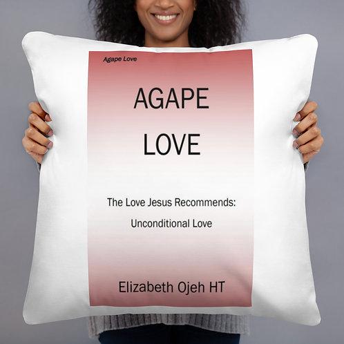 Elizabeth Ojeh: Print Basic Pillow