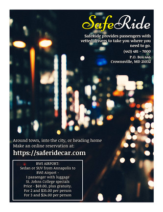 SafeRide Flier