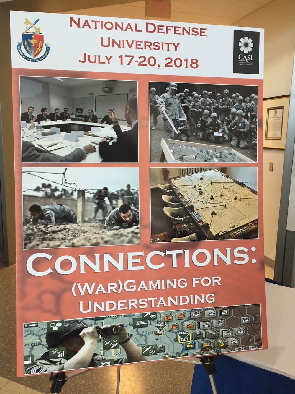 Connections Wargaming Conference 2018 poster