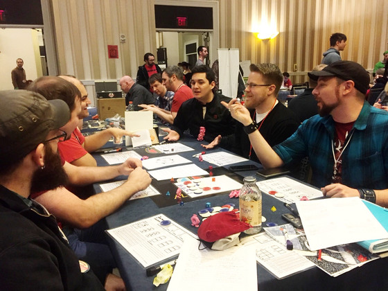Report on MAGFest 2018 Alter Arms Playtest