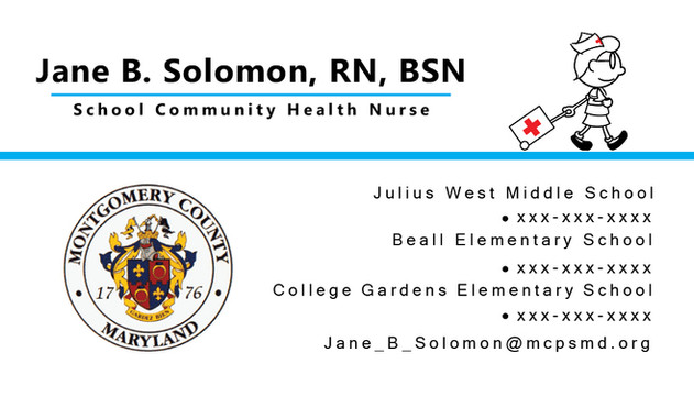 Nurse Business Card