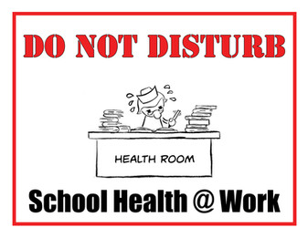 School Health Care Provider Sign