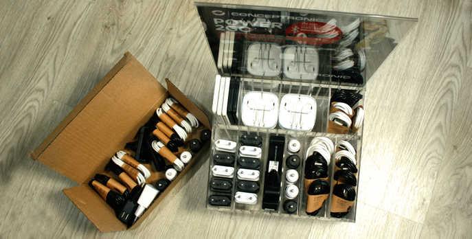 Exposito y caja de reposición