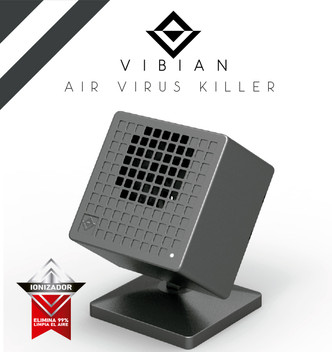 Vibian Air Virus Killer Cooll Gray_front