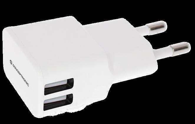 Cargador Pared USB Doble