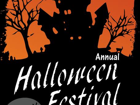 Halloween Festival Poster Advertisement