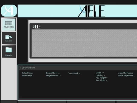 Keyboard Customization Software Prototype
