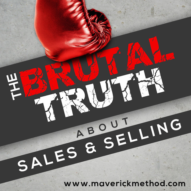 Interview coming soon: Brutal Truth About Sales & Selling Podcast