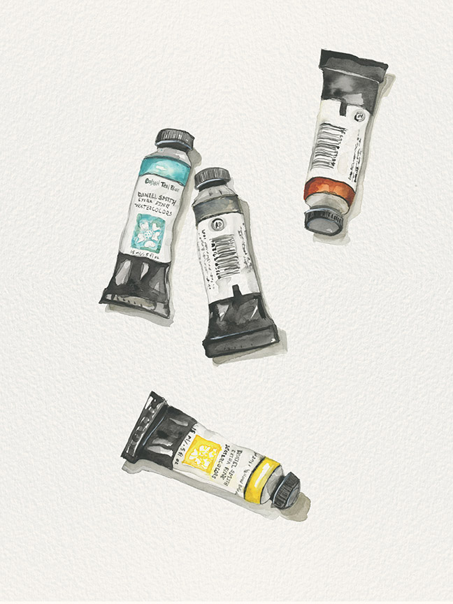 Paints from and for Laine