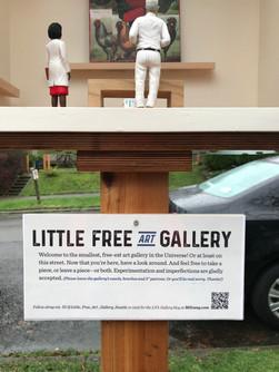 New LFA Gallery signage