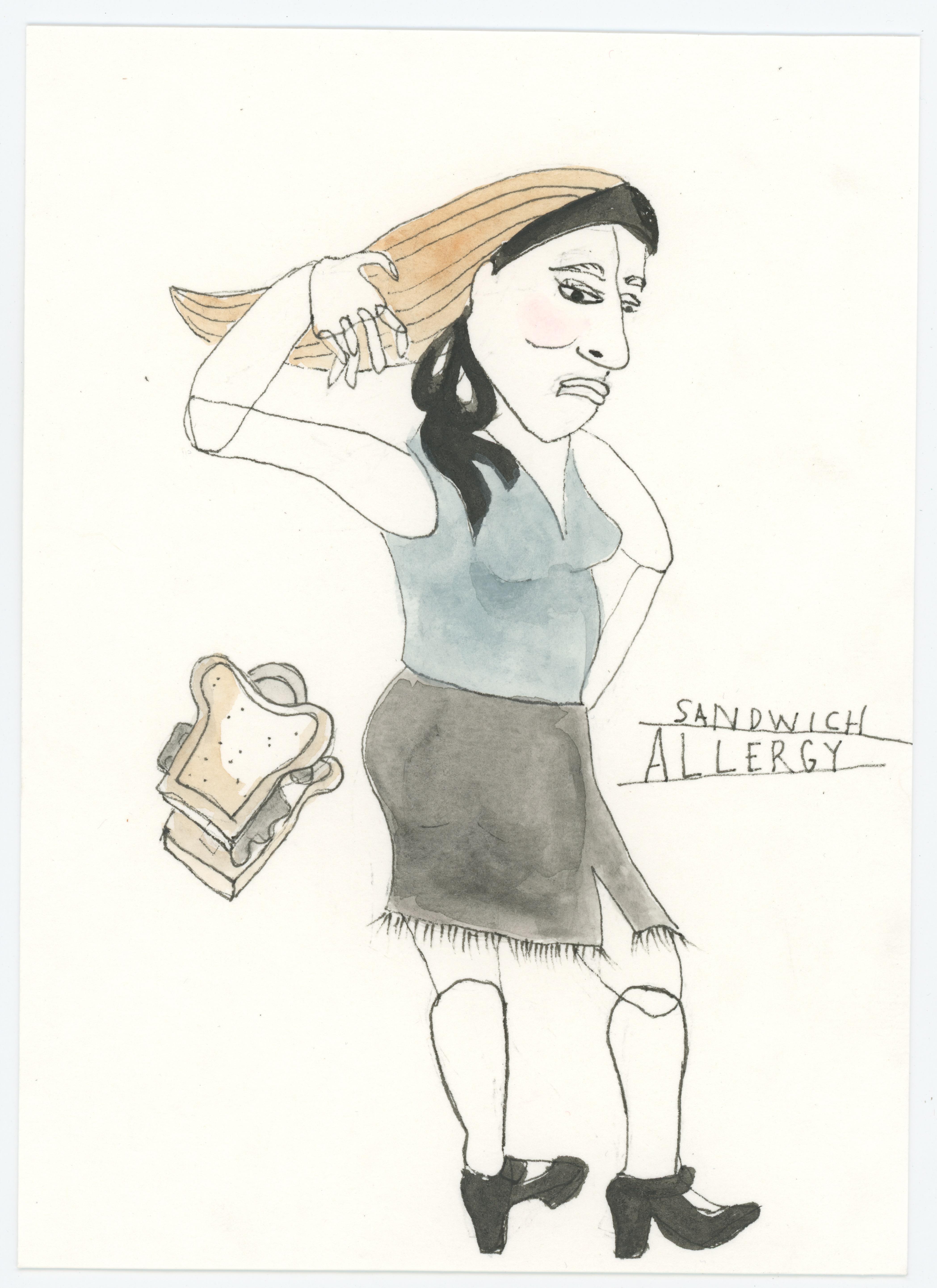 Sandwich Allergy