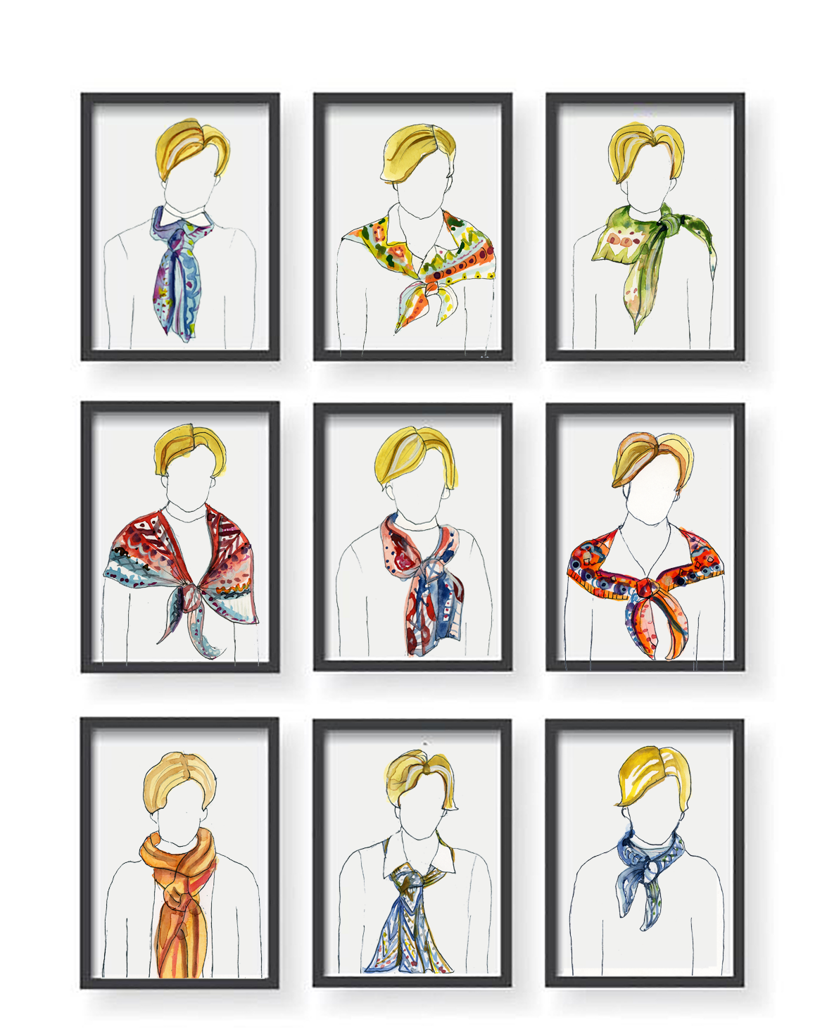 The Scarves of Dr Birx