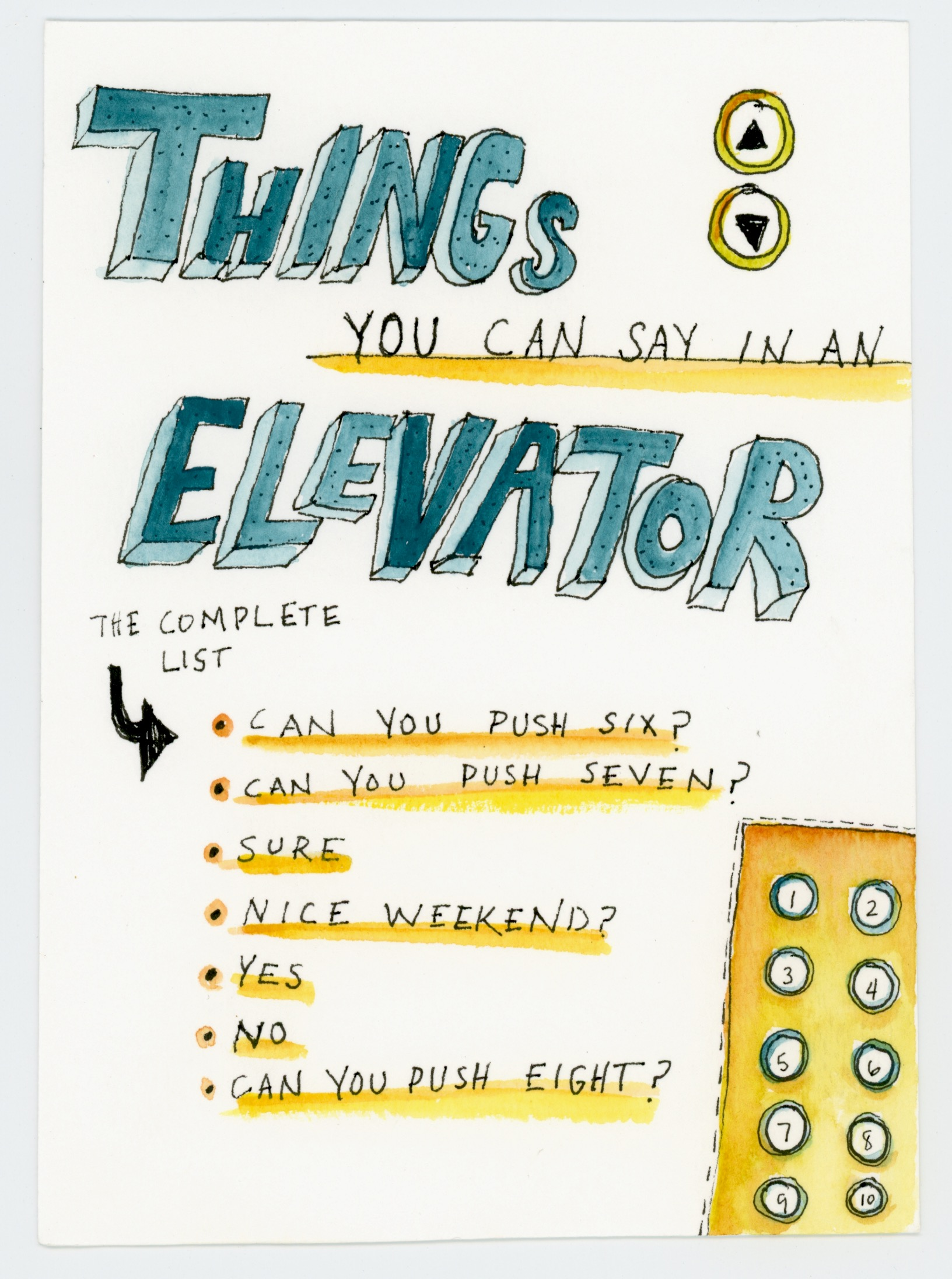"""Elevator Words"""