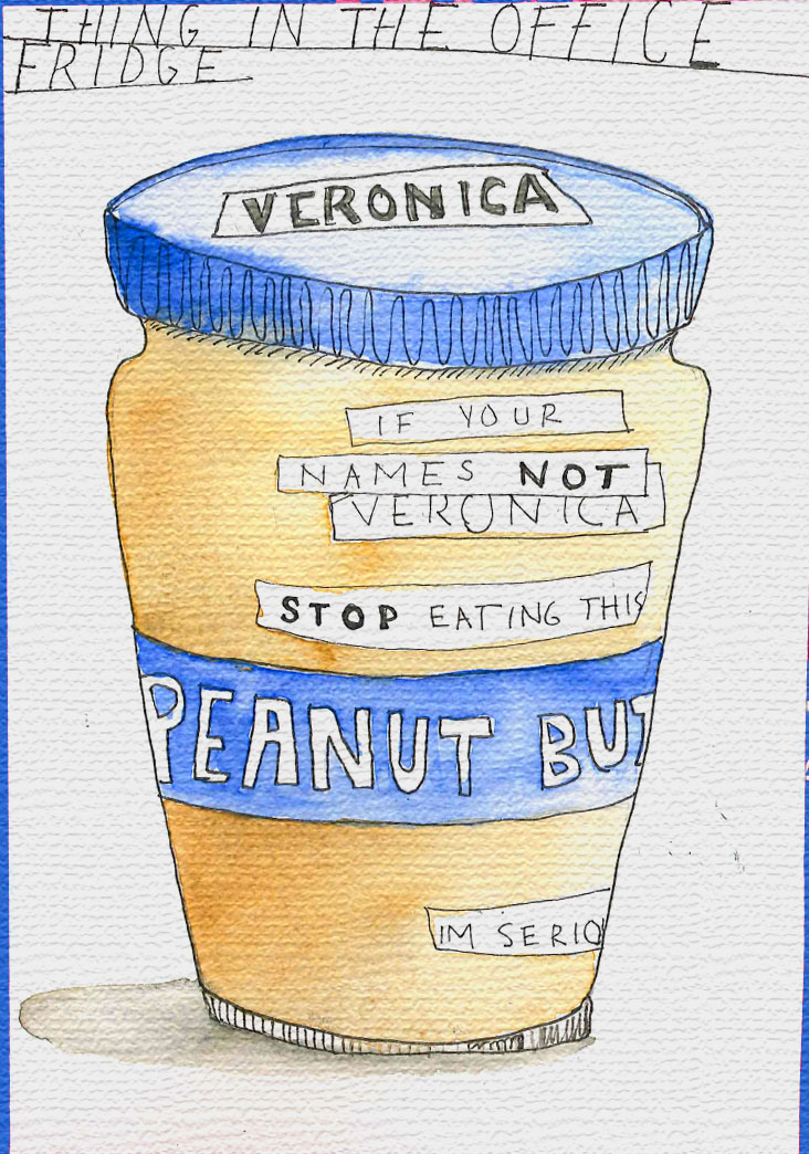 Veronica the peanut butter