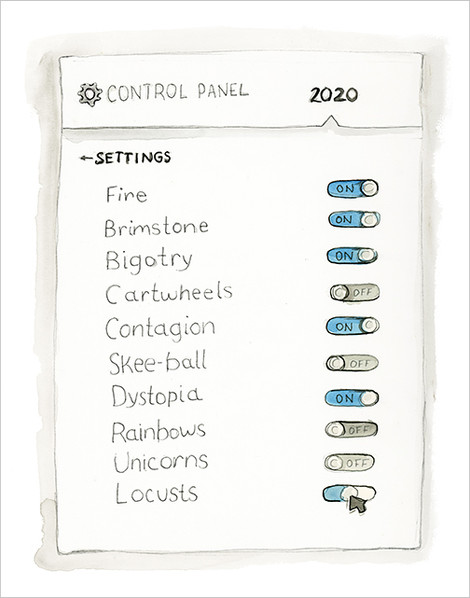 2020 Control Panel