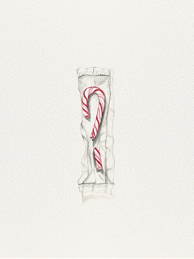 Candy Cane – found in my pocket