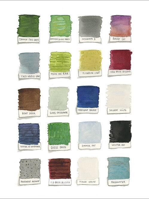 Lake Union Color Palette