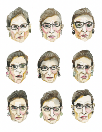 faces of RGb