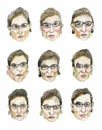 Faces of RBG