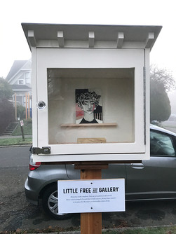 The Little Free Art Gallery