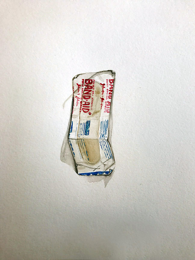 Bandaid – found in my pocket