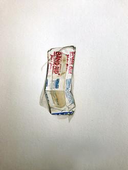 Bandaid – found in my pocket