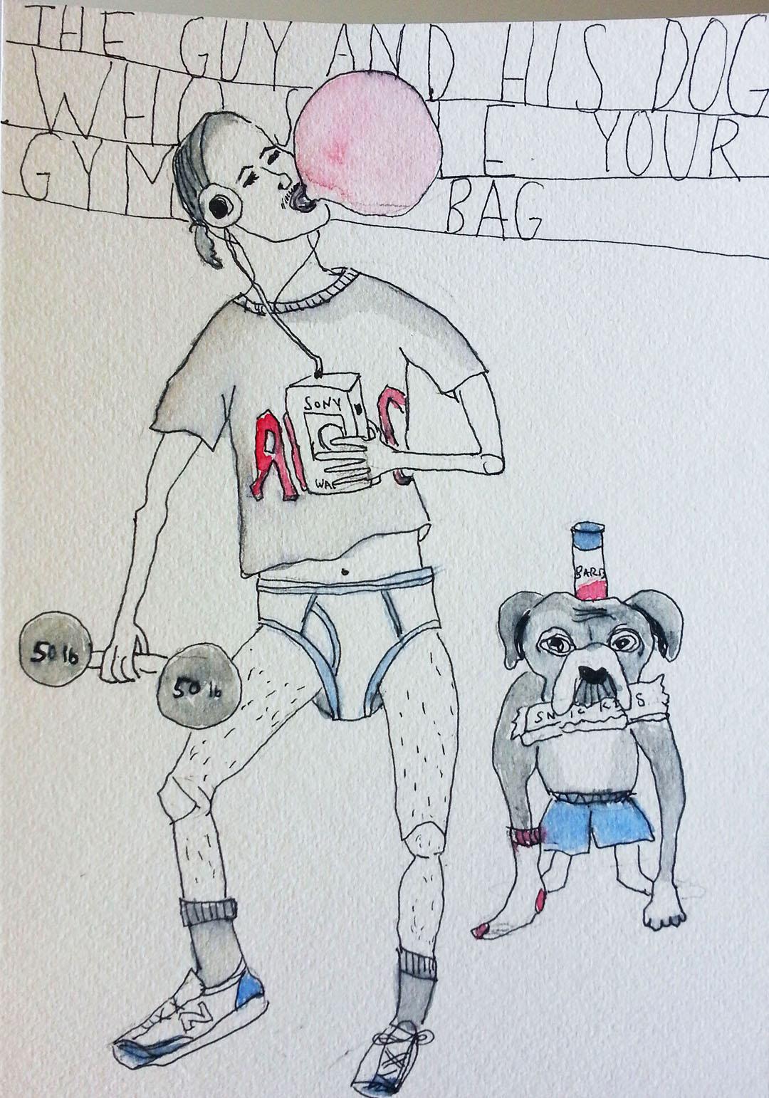 """""""Gym Bag Thief"""""""