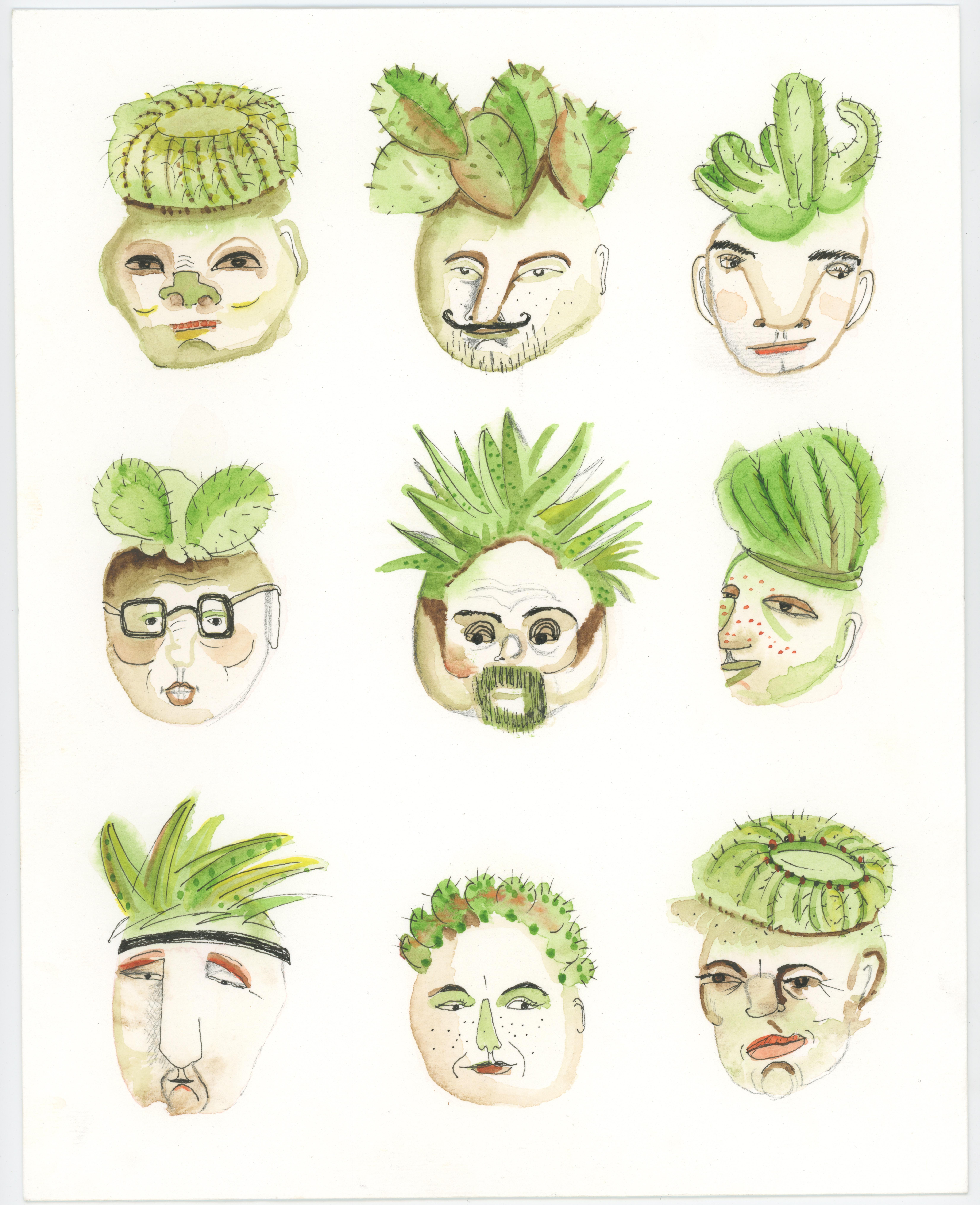 """""""Cactus Heads"""""""