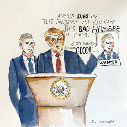 The VP named Scapegoat