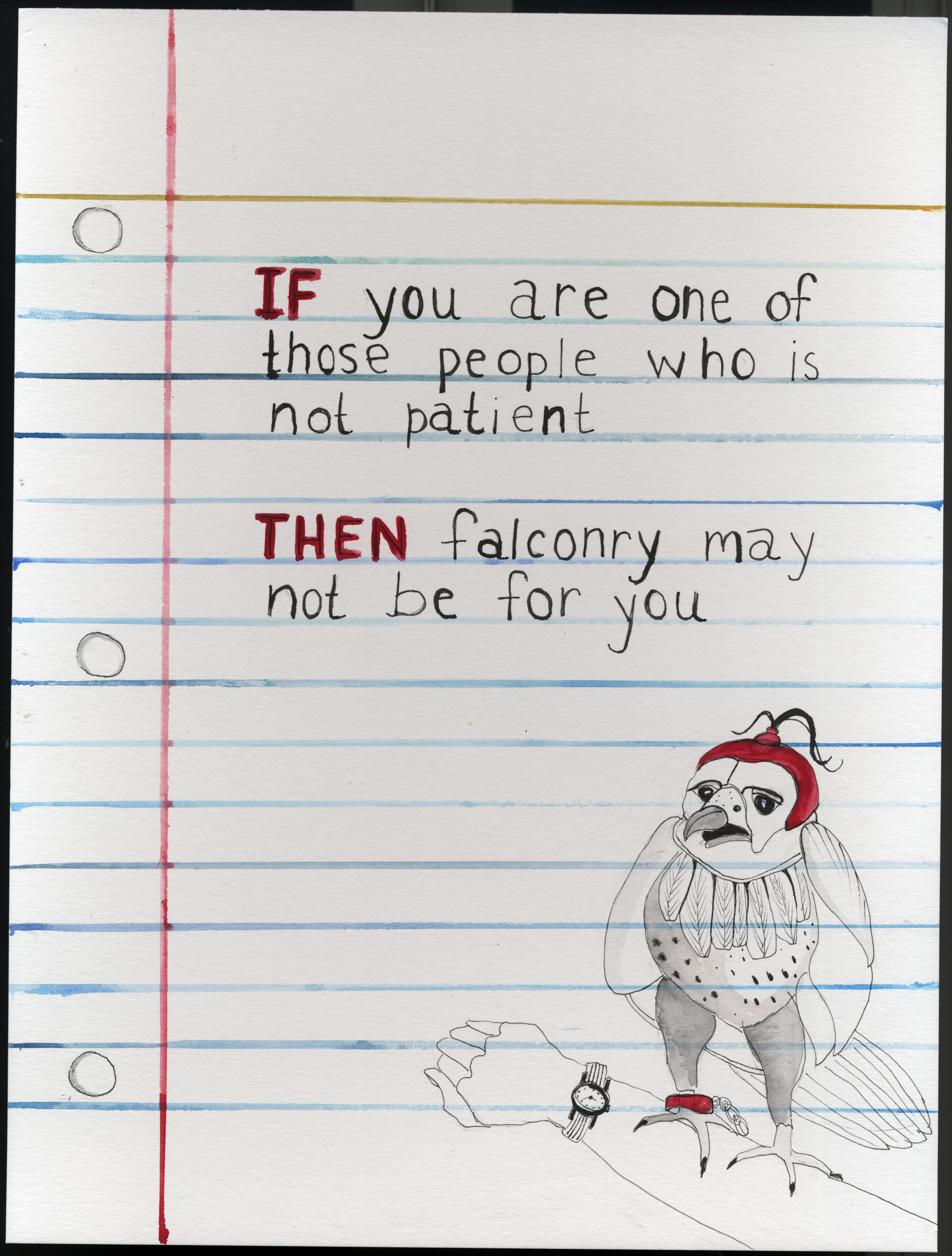 IF/THEN - Falconry