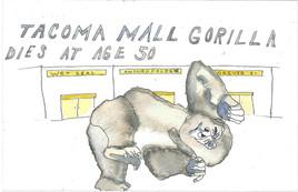 Tacoma Mall Gorilla