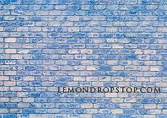 Blue Worn Brick