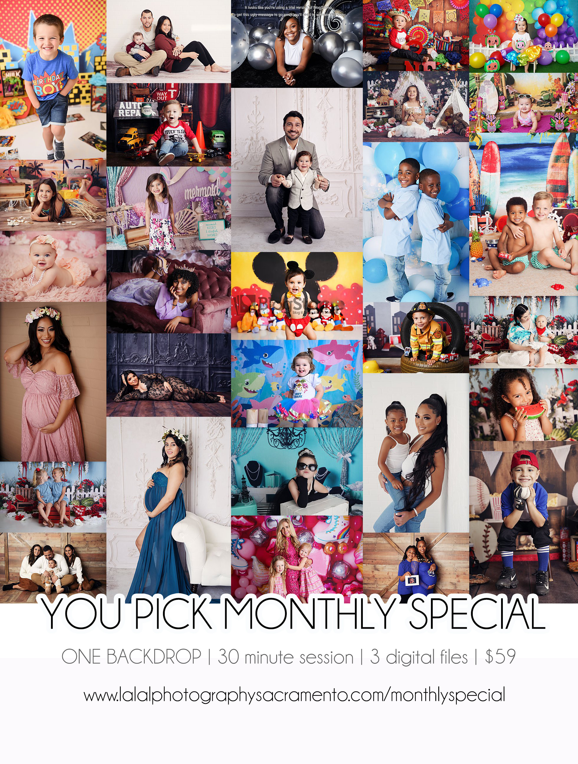 YOU PICK Monthly Special