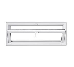 Basement Hopper Window