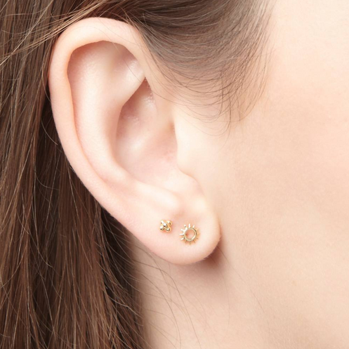 118301c2cda Riverstones - rise and shine studs goldplated