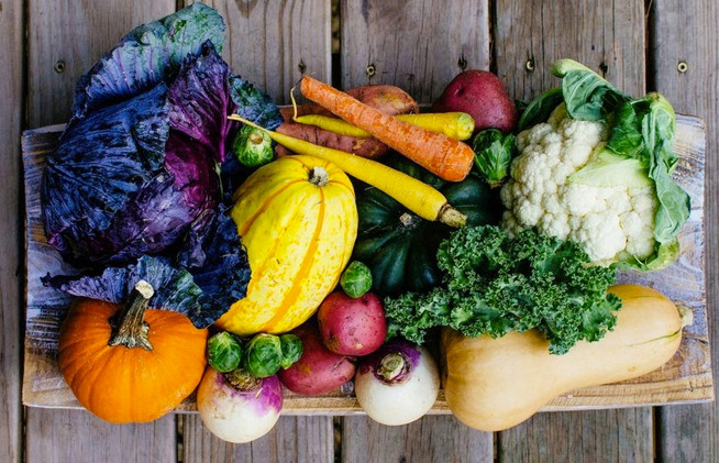Indulge with fall vegetables