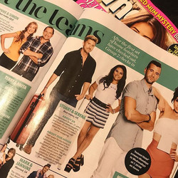Me and _sturt in this weeks _whomagazine - yay! My skin is glowing in this shot thanks to _aesthetic