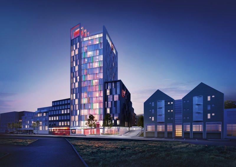 Radison RED hotel in Reykjavik
