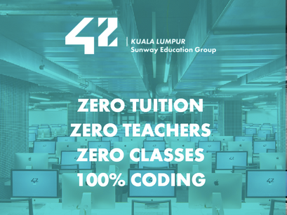 42 KL: Tuition-free Coding School in KL