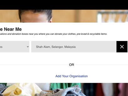 Donate Near Me app (Malaysia)