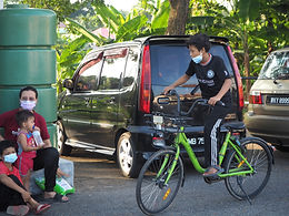 Unused bicycles given new life