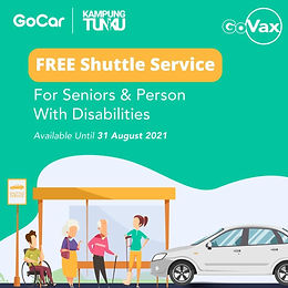 GoVax - Free transport for older persons and PWD to vaccination centres