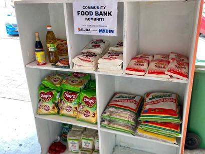 Community Food Banks (Gerobok Rezeki Komuniti)