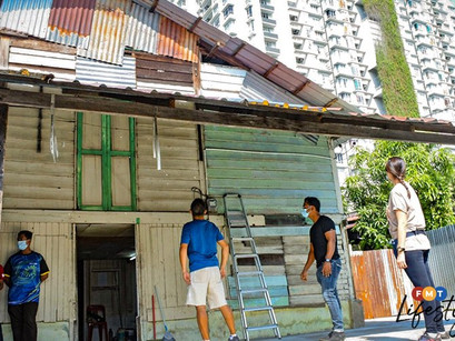 Kampung house becomes learning centre