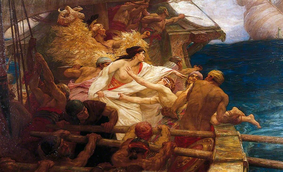 The Argo's escape from Colchis