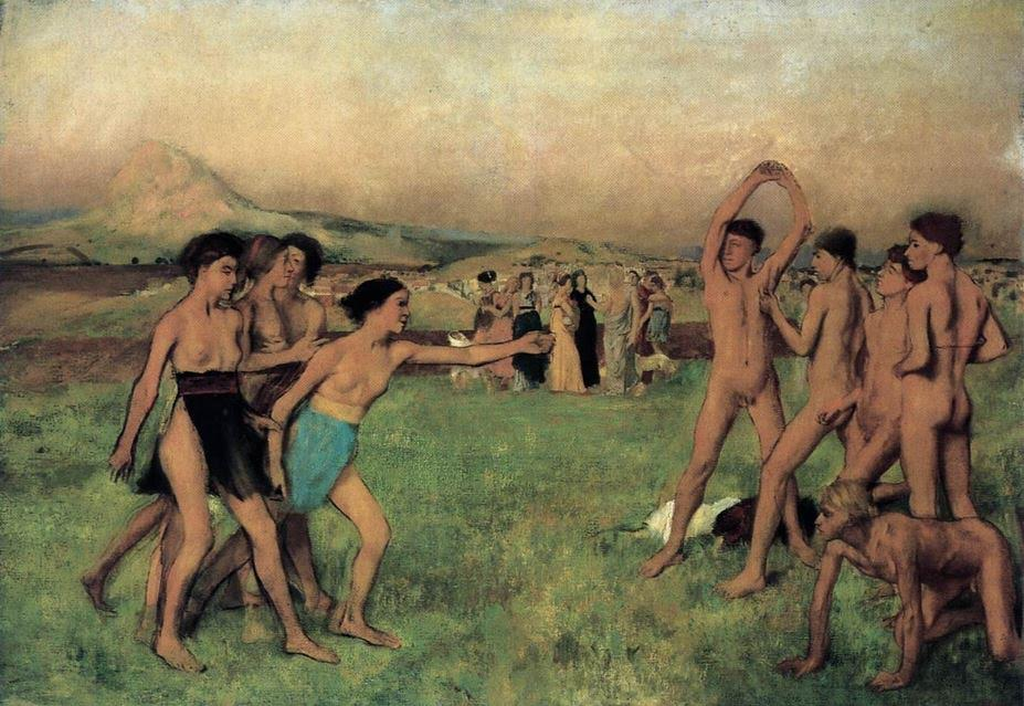 Young-Spartans-Exercising-Edgar-Degas