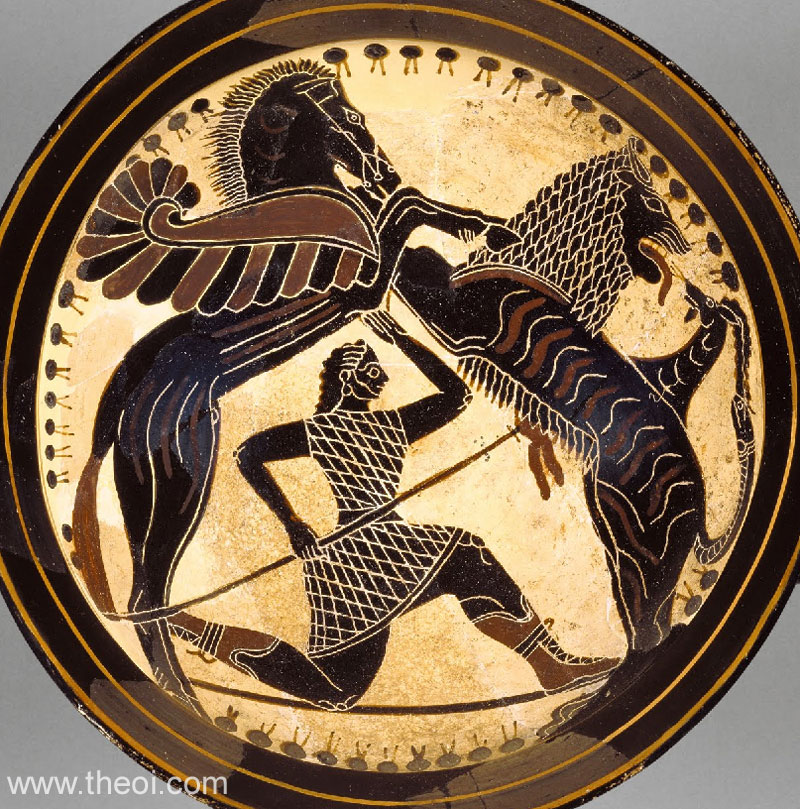 Bellerophon and Chimera