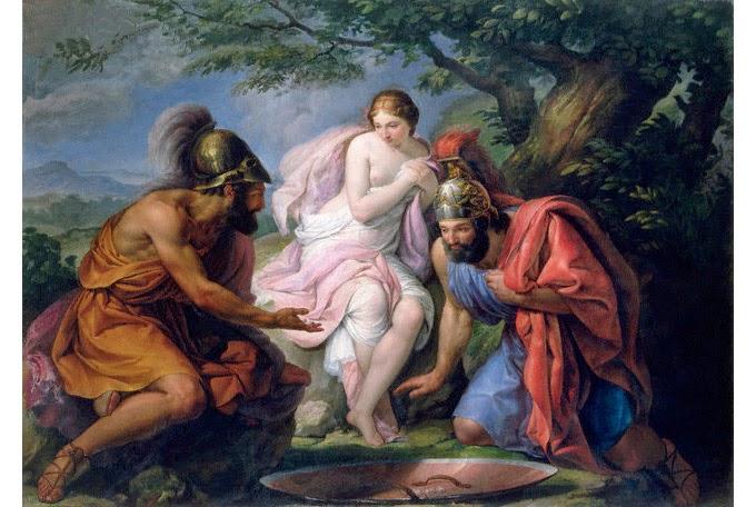 Theseus and Pierithous