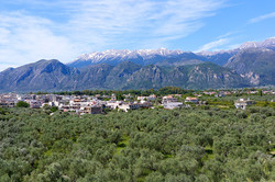 The Taygetos range