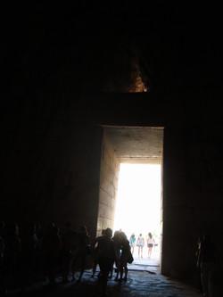 INSIDE THE THOLOS